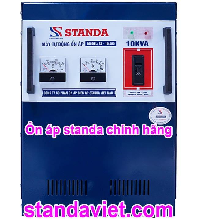 Ổn áp standa 10kva ST 150V-250V chính hãng chạy êm đủ công suất!